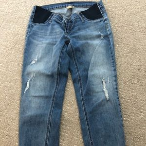 Maternity Jeans: Great condition and stylish (M)